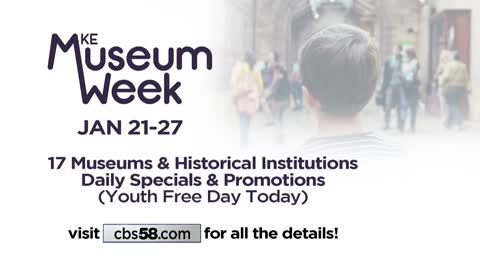 Milwaukee Museum Week provides free admission for kids at many...